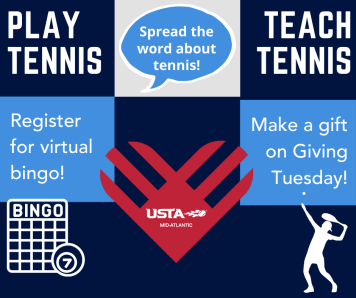 5 Ways to Give to Tennis on Giving Tuesday