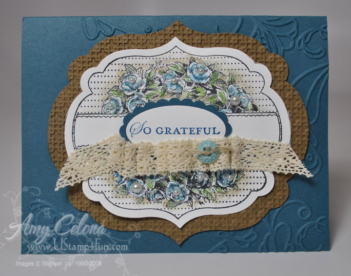 Stampin' Up! Apothacary Art Card