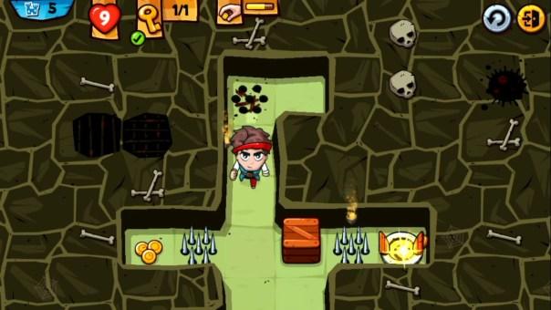 Maze Bandit polskie gry mobilne