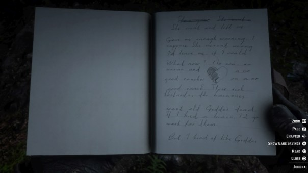 Marston i dziennik