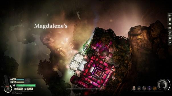 Magdalenki, jedno z magicznych miejsc Sunless Skies