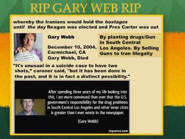 Gary Web Iran contra