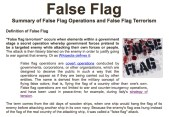 Know YOUR False FLAG ADL neighbourhood and beyond