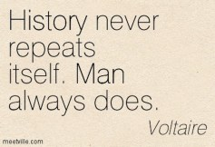 sayings Quotation-Voltaire-man-history-Meetville-Quotes-45861