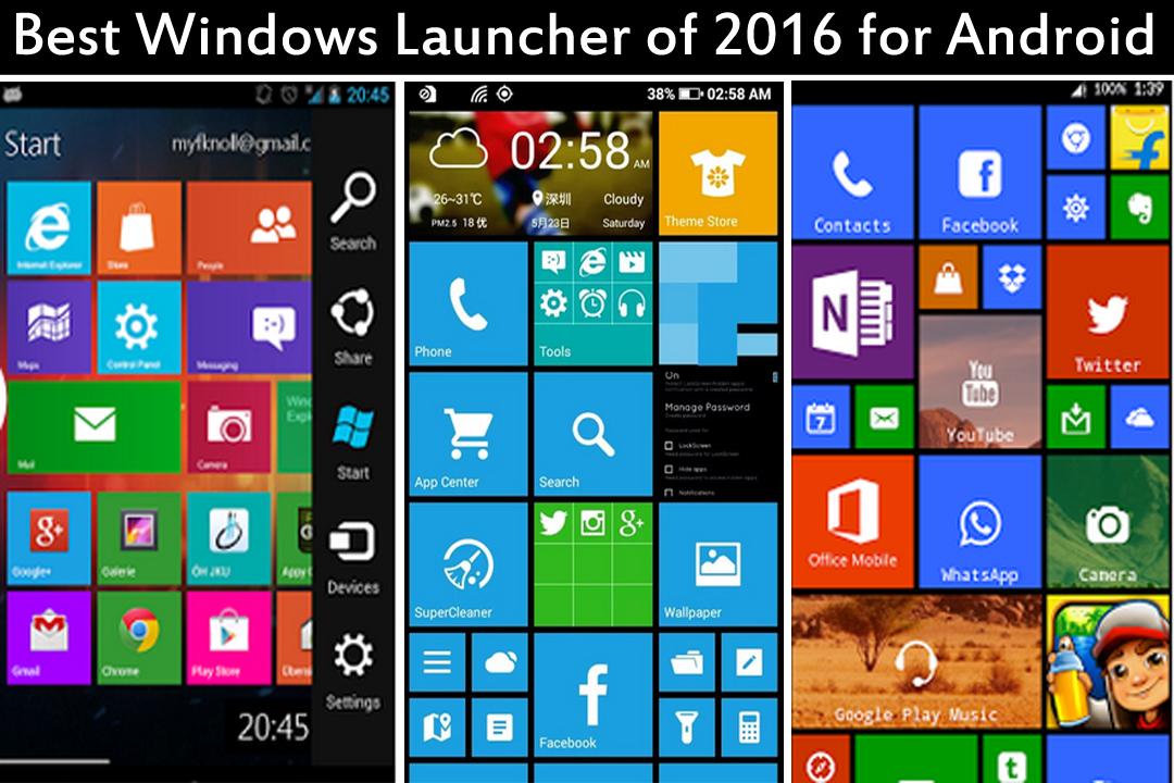 best Windows launcher of 2016