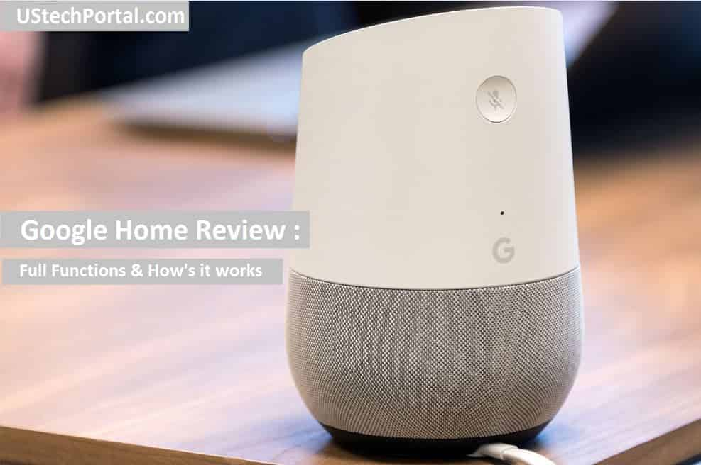 Google Home Review-functions