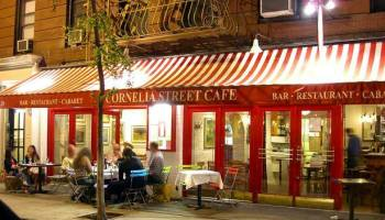 Reading at Cornelia Street Cafe NYC with Melissa Studdard and Amy King