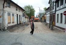 Remont ulicy Sprzymierzeńców w Ustce - ustka24.info