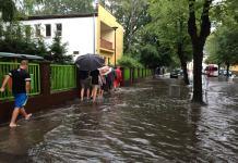 Ulewa sparaliżowała centrum Ustki - ustka24.info