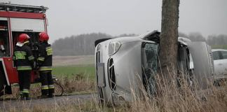 Tragiczny wypadek samochodu między Duninowem a Zaleskimi - ustka24.info