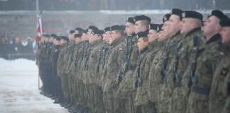 Zimowa przysięga marynarzy w Ustce - ustka24.info