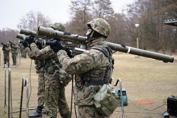 Żołnierze ćwiczyli na Centralnym Poligonie Sił Powietrznych w Ustce - ustka24.info