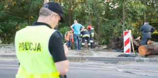 Uszkodzony gazociąg w centrum Ustki - ustka24.info