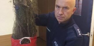 Policjanci zatrzymali kłusownika, który nielegalnie poławiał ryby na Słupi - ustka24.info