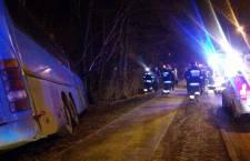 Wypadek autobusu na ulicy Słupskiej w Ustce - ustka24.info