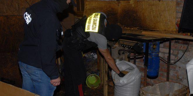 Funkcjonariusze Straży Granicznej z Ustki zlikwidowali nielegalną krajalnię tytoniu - ustka24.info