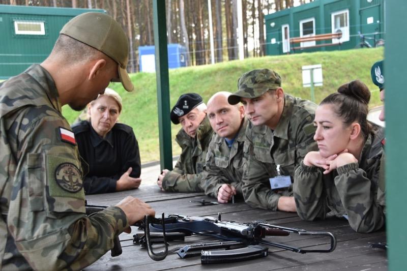 Szkolenie nauczycieli klas wojskowych w CSMW Ustka - FOTO
