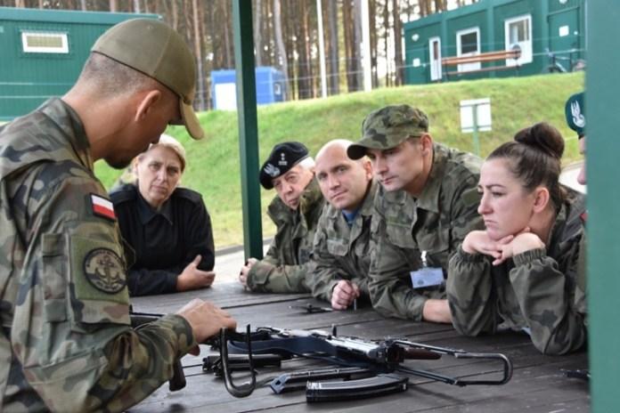 Szkolenie nauczycieli klas wojskowych w CSMW Ustka - ustka24.info