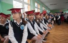 Ślubowanie uczniów pierwszej klasy w SP nr 2 w Ustce - ustka24.info