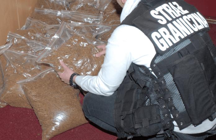 Strażnicy Graniczni z Ustki znaleźli ponad 20 kg nielegalnej krajanki tytoniowej - ustka24.info
