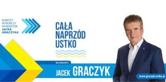 Jacek Graczyk wielkim zwycięzcą wyborów samorządowych w Ustce - ustka24.info