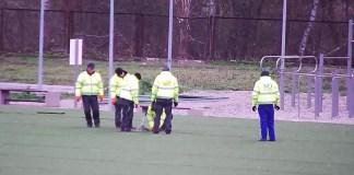 Trwa budowa nowego boiska ze sztuczną murawą na OSiR Ustka - ustka24.info