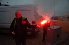 Protest rybaków morskich w Ustce. Zablokowali redę portu - ustka24.info