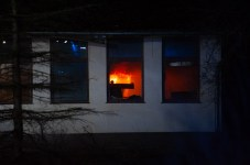 Pożar opuszczonego Zajazdu Bałtyckiego w Przewłoce - ustka24.info