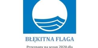 Kąpielisko plaża wschodnia Ustka z certyfikatem Błękitna Flaga 2020 - ustka24.info