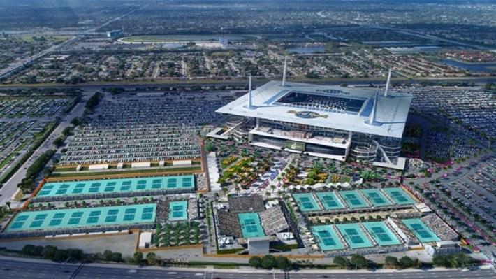 Miami Open Seating Guide | 2020 Miami Masters | Championship in Miami Open Tennis Stadium Map