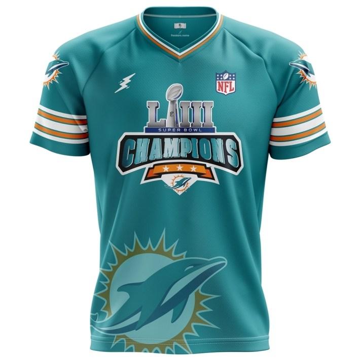 Super Bowl Liii Champions Miami Dolphins 2019 regarding Super Bowl 2019 Miami Dolphins