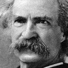 Mark Twain Us Amerikanischer Schriftsteller
