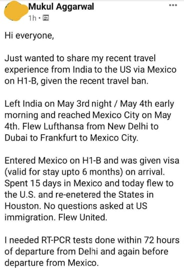 Travel to Mexico from Home Country 14 Mexico US Visa Stamping Visa Info H1B Appointment
