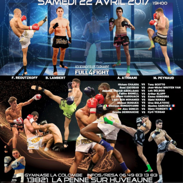 Nawel et Bertrand a l'affiche du Simply The boxe le 22 avril