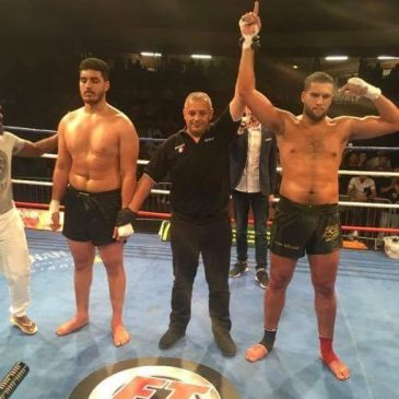 Victoire de Amine Kebir contre Ismail Echchayb