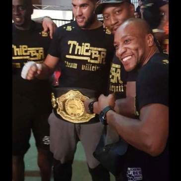 Amine Kebir nouveau Champion