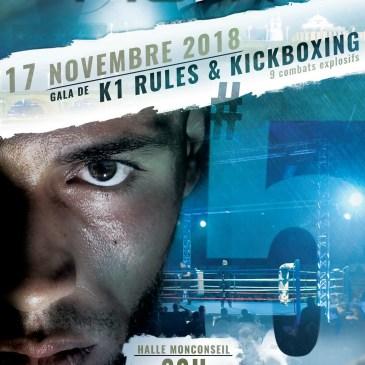 Notre poids lourd Amine Kebir disputera la finale du Tour Event Fight