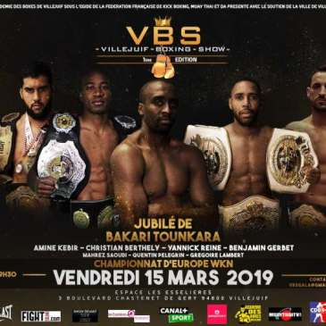Villejuif Boxing Show : le compte à rebours est lancé !