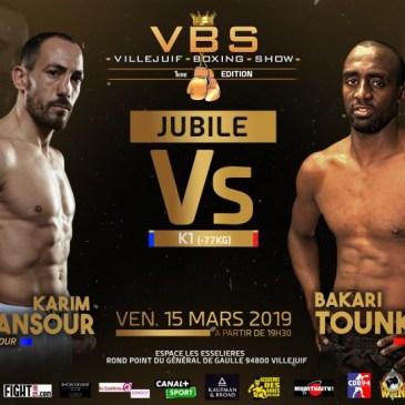 Villejuif Boxing Show : Tounkara fait son jubilé face à Benmansour