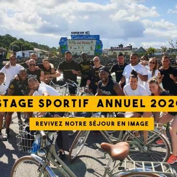 Stage sportif annuel 2020