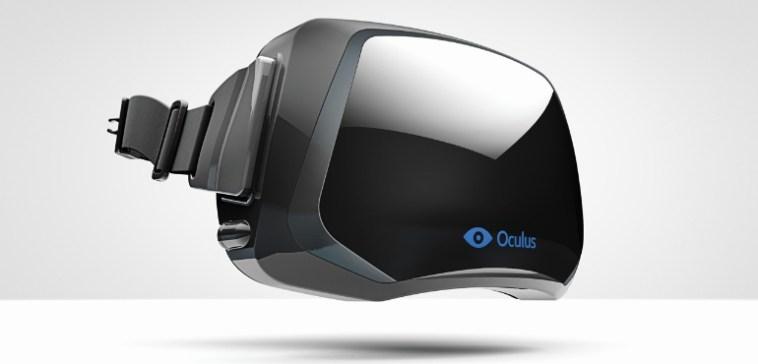 Oculus Rift VR headset virtual reality