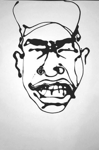hip hop portrait big grin