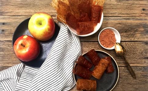 apple-cinnamon-fruit-leathers