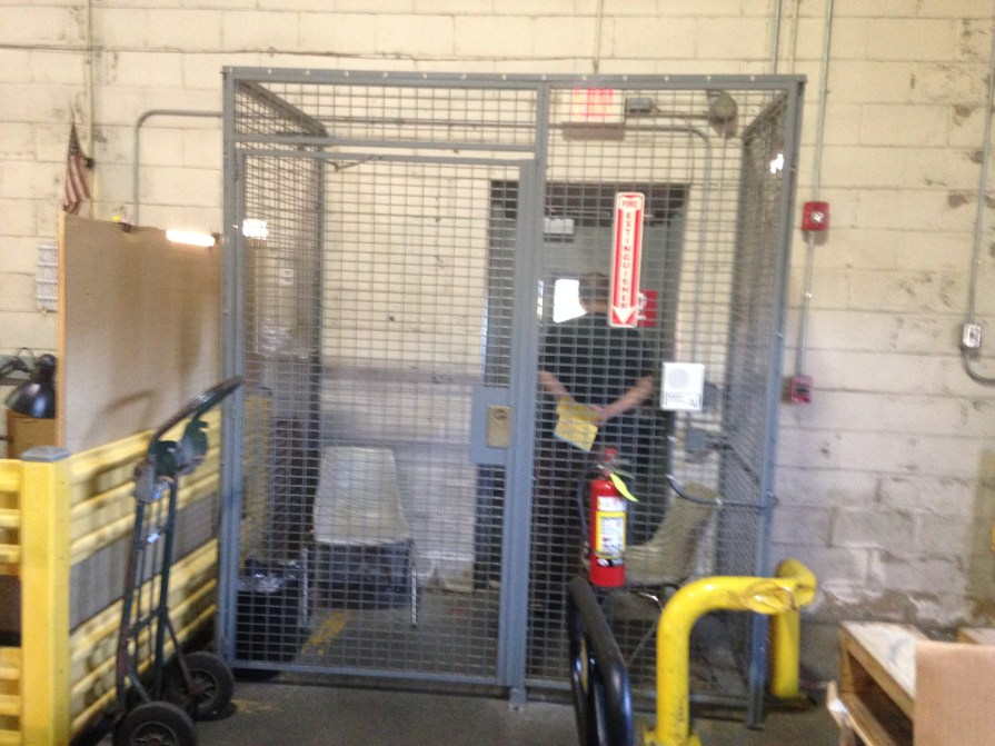 Security Cages Truck Driver Cage