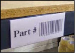 Rivet Shelving Shelving Label Holders