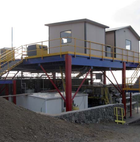 Structural Mezzanines added office on top
