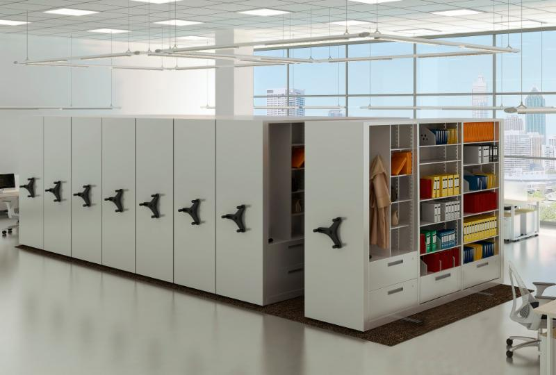 Increase your storage capacity by reducing your aisles