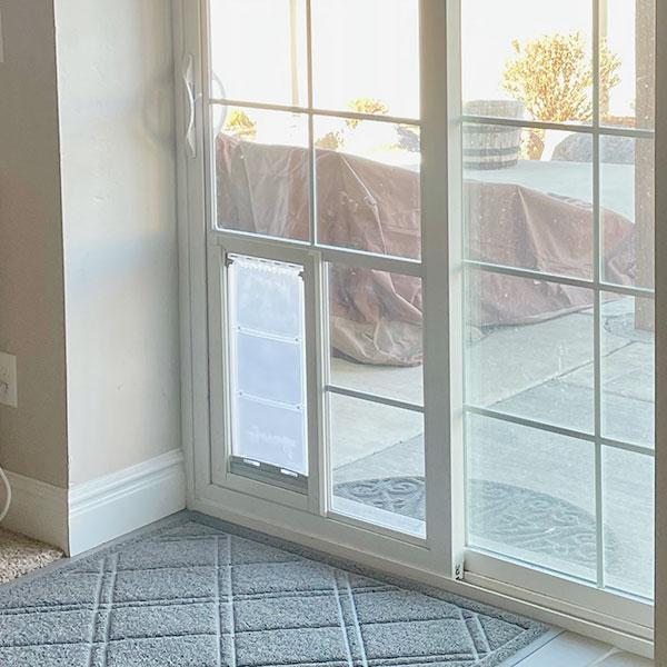 utah pet access sliding glass dog door