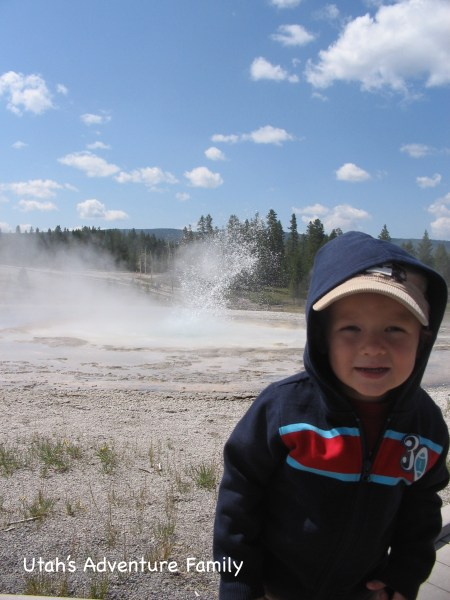 Anenome Geyser is a family favorite!
