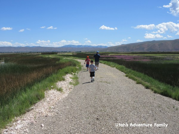 Bear Lake National Wildlife Refuge has some fun hiking trails and beautiful scenery.